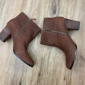 Cole Haan + Nike Air cassidy chestnut boots
